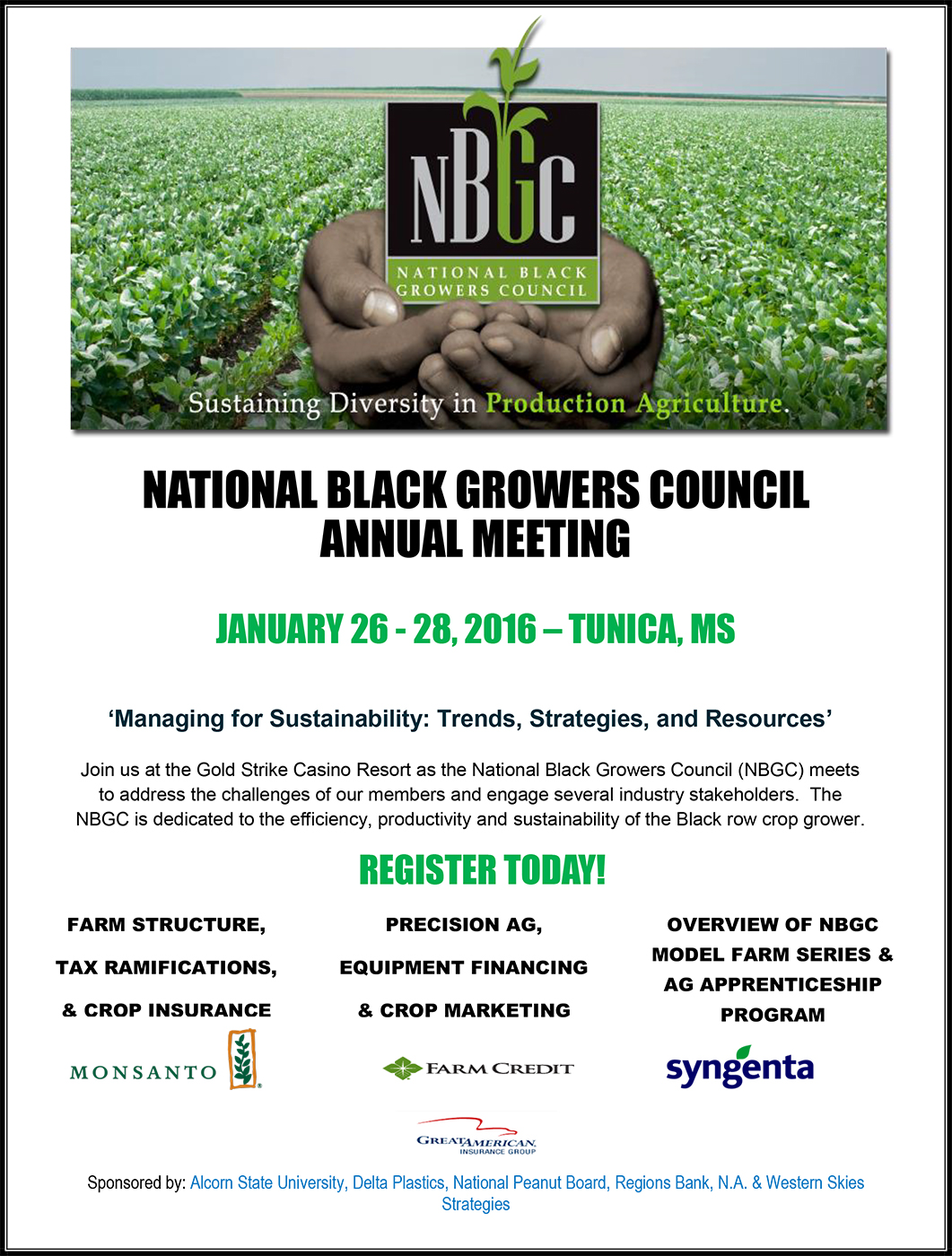 NationalBlackGrowersCouncilAnnualMeetingFlyer
